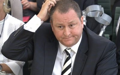 Why does Mike Ashley want to be CEO of Debenhams?