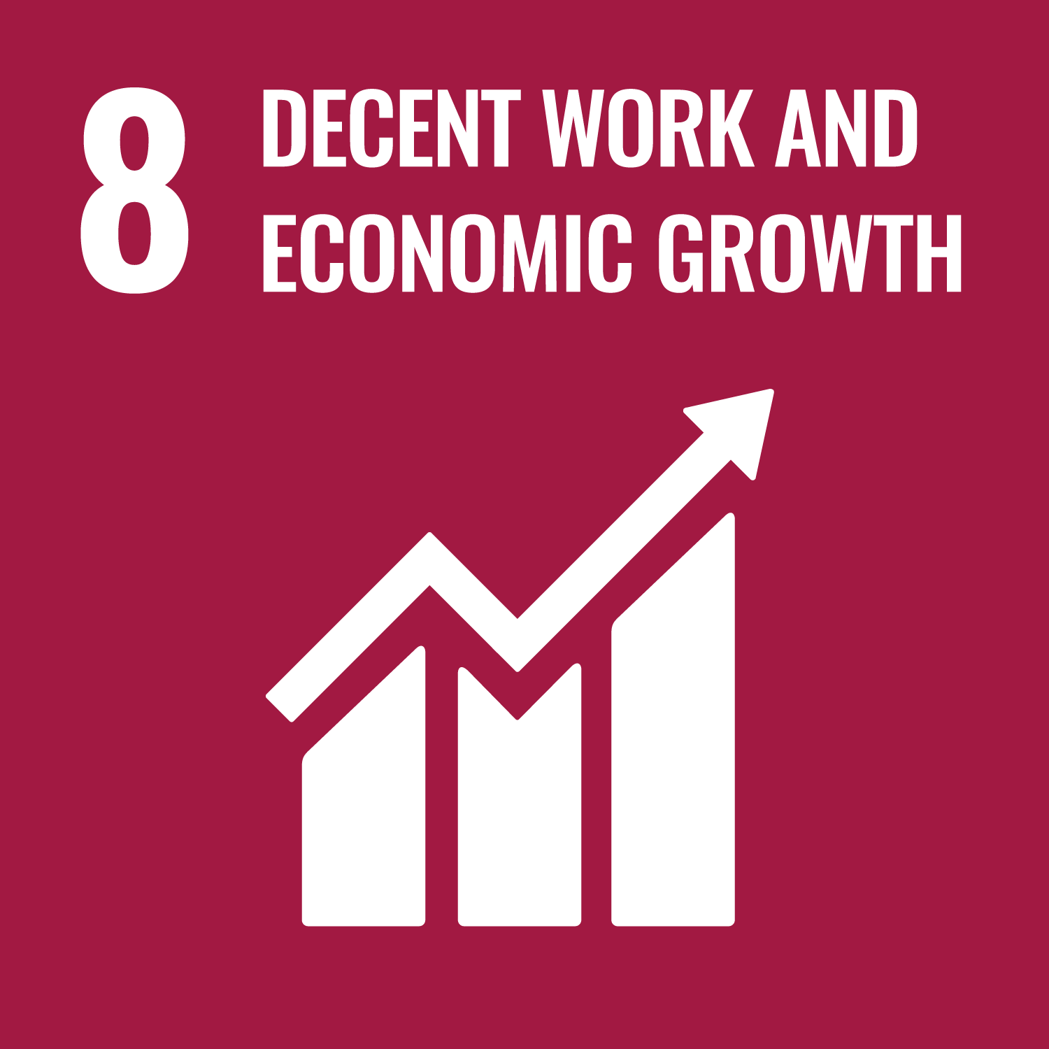 Decent Work And Economic Growth - UN Sustainable Development Goal 8