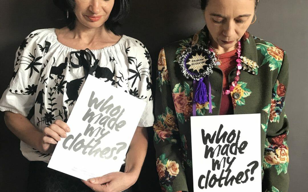 How to start a fashion revolution with activist Orsola de Castro